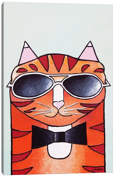One Cool Cat Canvas Art Print