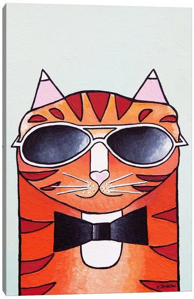 One Cool Cat Canvas Art Print