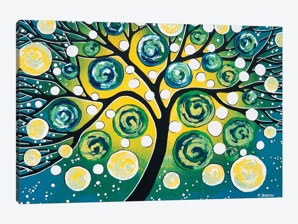 Starry Night by Helen Janow Miqueo 1-piece Canvas Wall Art
