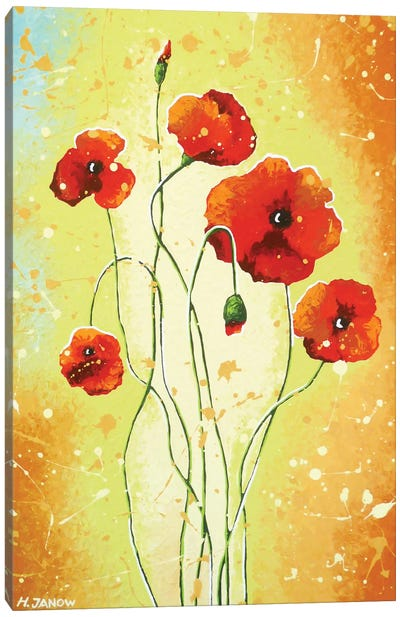 California Poppies Canvas Art Print