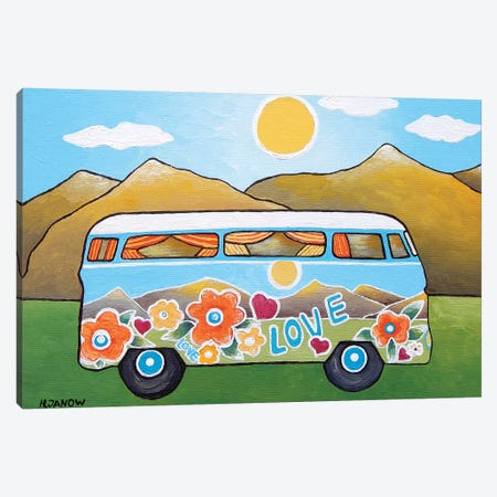 Big Adventure Canvas Print #HJM60} by Helen Janow Miqueo Canvas Print