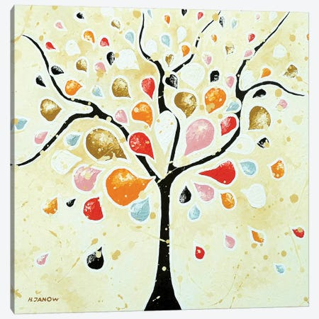 Dreaming Tree Canvas Print #HJM62} by Helen Janow Miqueo Canvas Print