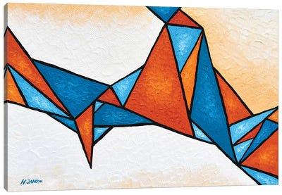 Geometric Nebula Canvas Art Print