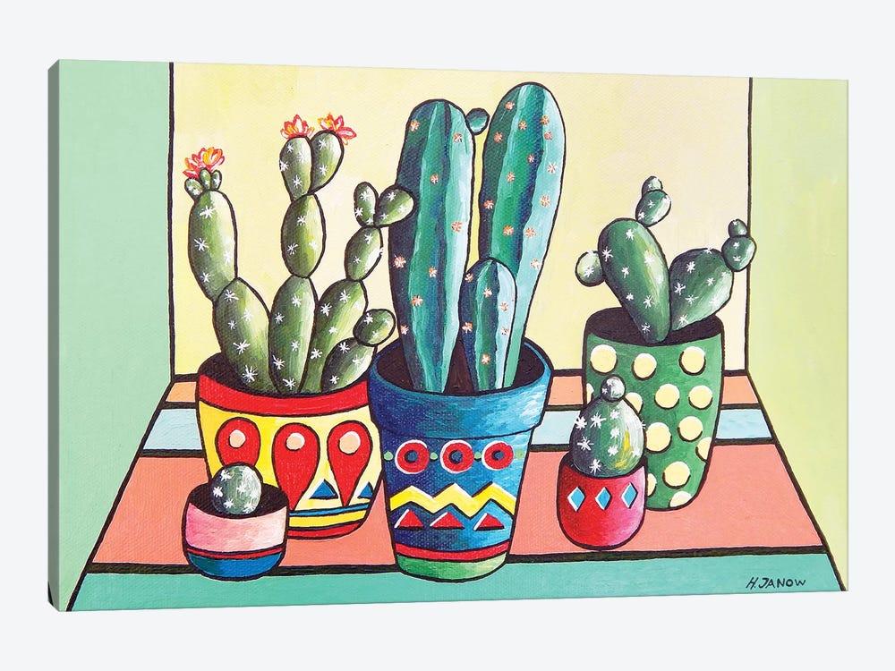 My Cactus Garden by Helen Janow Miqueo 1-piece Canvas Artwork