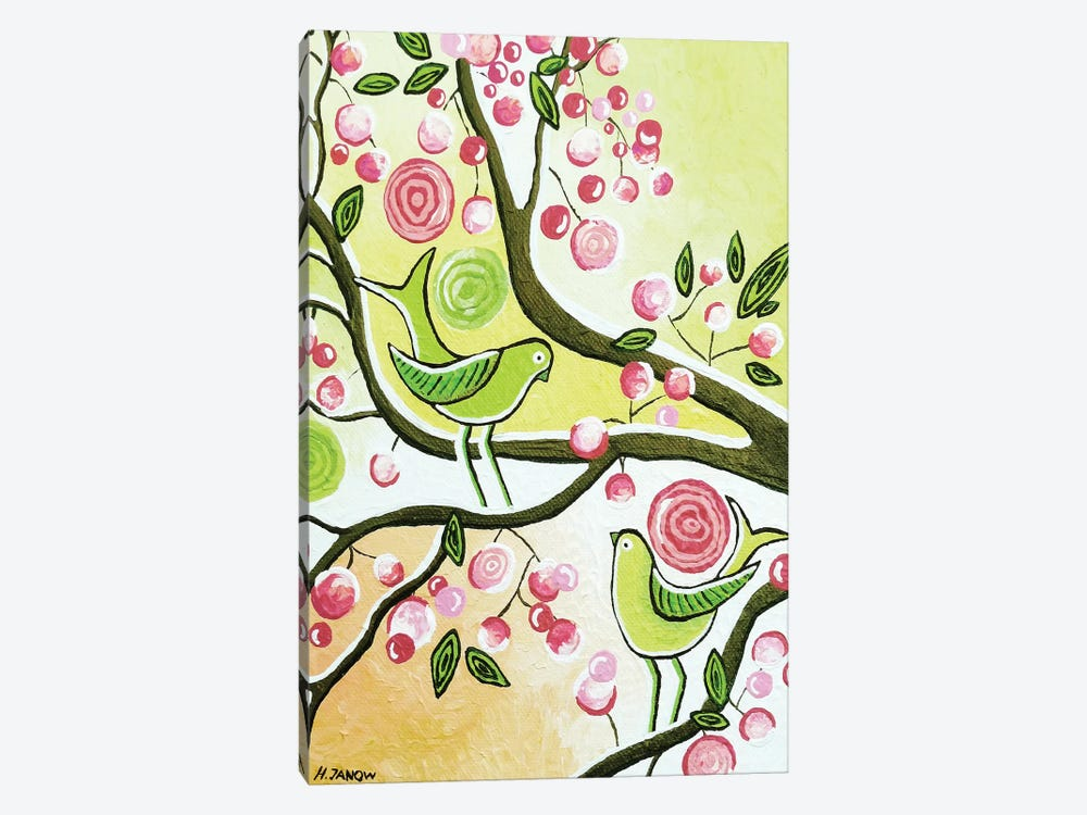 Cherry Garden by Helen Janow Miqueo 1-piece Art Print