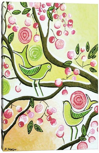 Cherry Garden Canvas Art Print