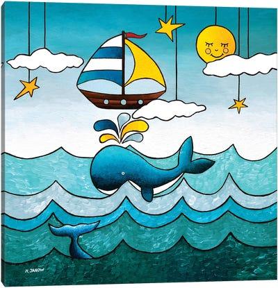 The Adventurer Canvas Art Print