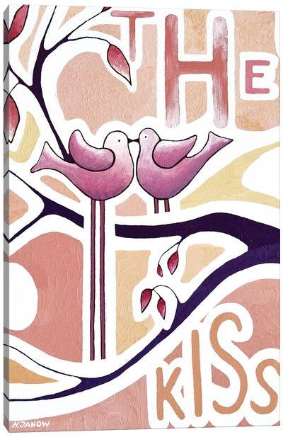 The Kiss Canvas Art Print