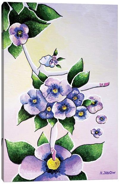 Dance Of Flowers Canvas Art Print