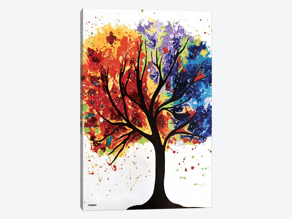 Mystical Tree by Helen Janow Miqueo 1-piece Canvas Art Print