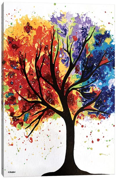 Mystical Tree Canvas Art Print