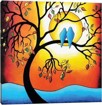 Colors Of The Season Canvas Art Print
