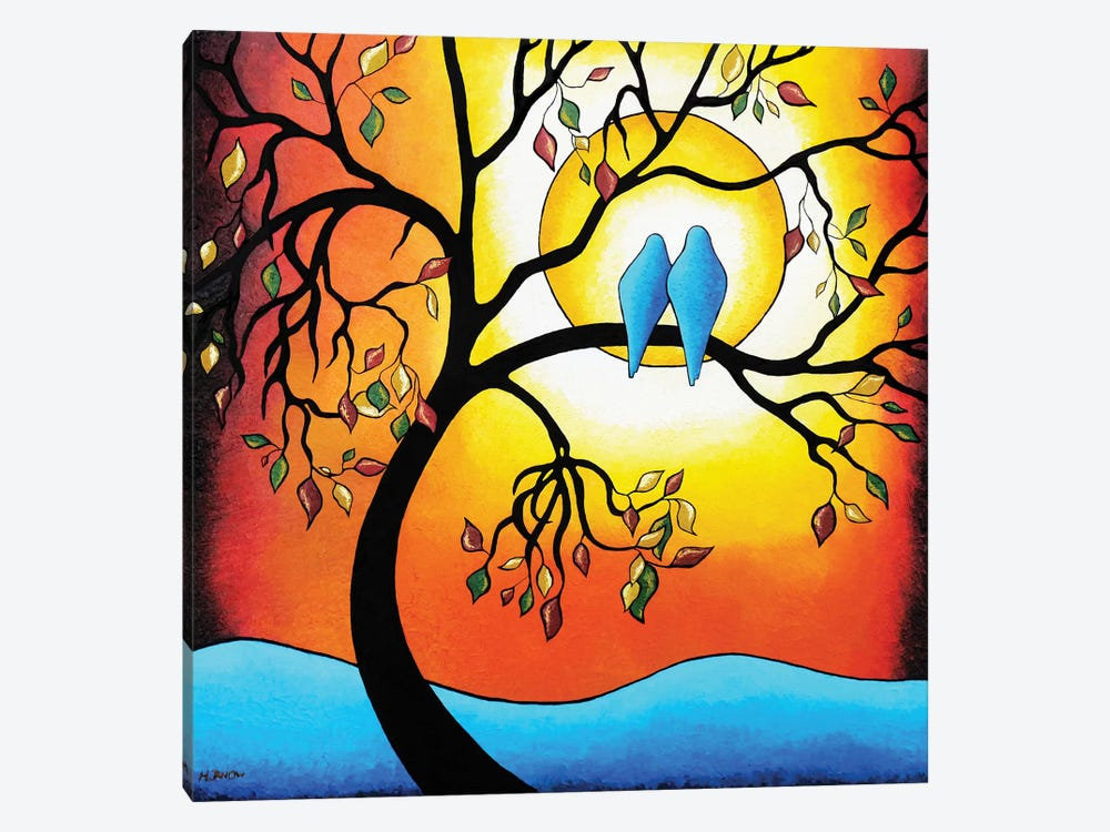 Colors Of The Season by Helen Janow Miqueo 1-piece Canvas Wall Art