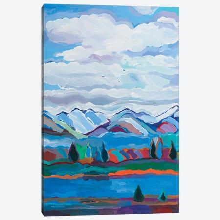 Color and Clouds VI Canvas Print #HKH15} by Hooshang Khorasani Canvas Art Print