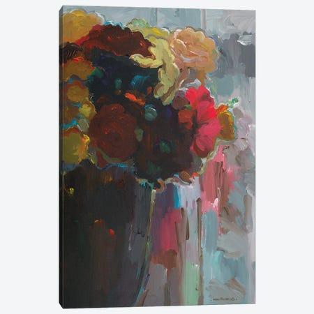 Asymmetrical Bouquet II Canvas Print #HKH2} by Hooshang Khorasani Canvas Print