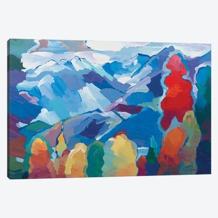 Nature's Composition Canvas Print #HKH56} by Hooshang Khorasani Art Print