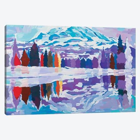 Nature's Reflection Canvas Print #HKH57} by Hooshang Khorasani Canvas Print
