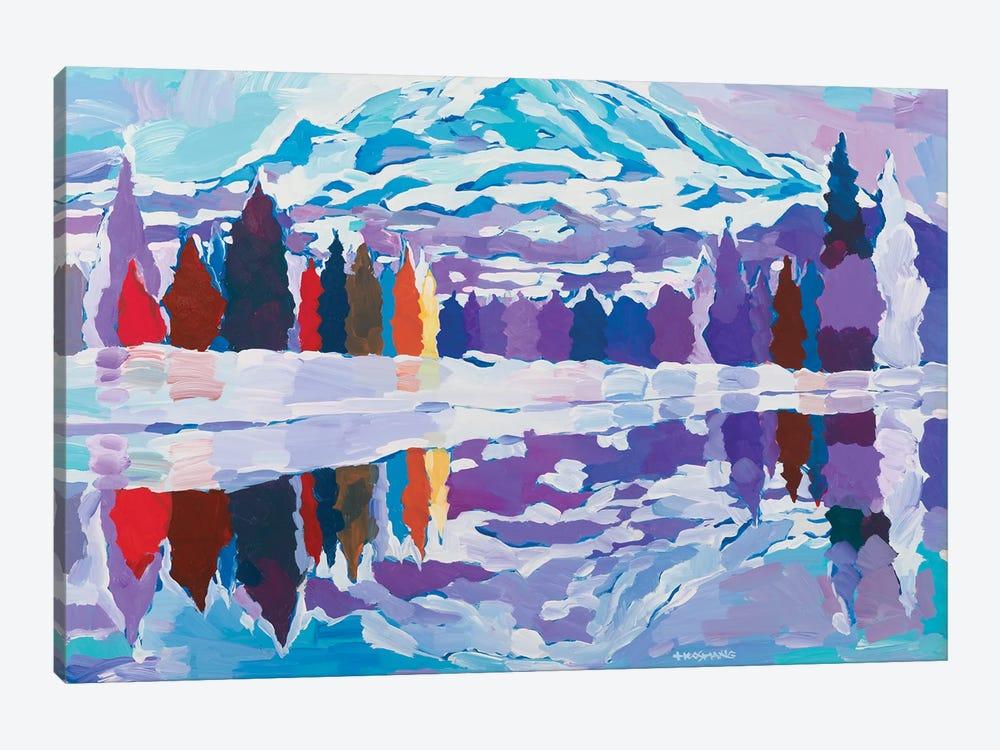 Nature's Reflection by Hooshang Khorasani 1-piece Canvas Wall Art