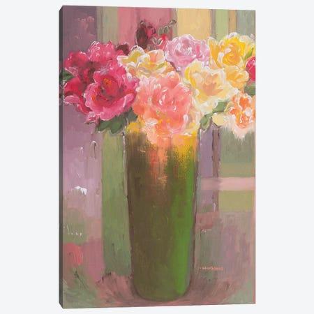 Romantic Roses Canvas Print #HKH76} by Hooshang Khorasani Canvas Print