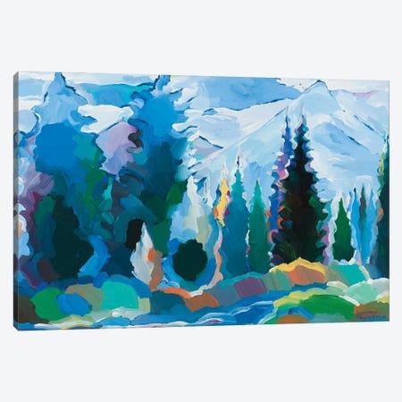 Blue Daydream Canvas Print #HKH7} by Hooshang Khorasani Canvas Artwork