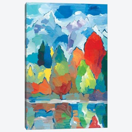 Teton Tribute Canvas Print #HKH90} by Hooshang Khorasani Canvas Artwork