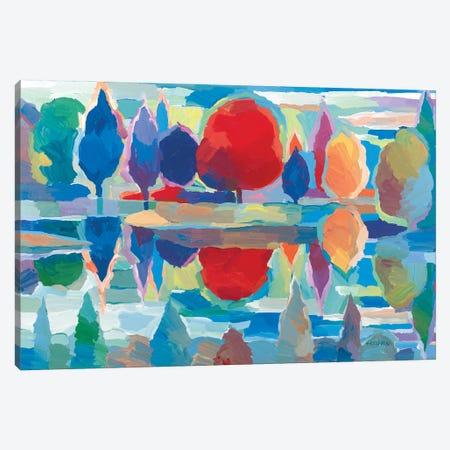 Time for Reflection Canvas Print #HKH95} by Hooshang Khorasani Canvas Art Print