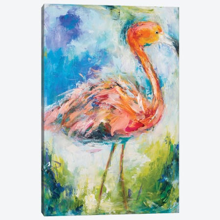 Pretty In Pink II Canvas Print #HKO2} by Hilma Koelman Canvas Artwork