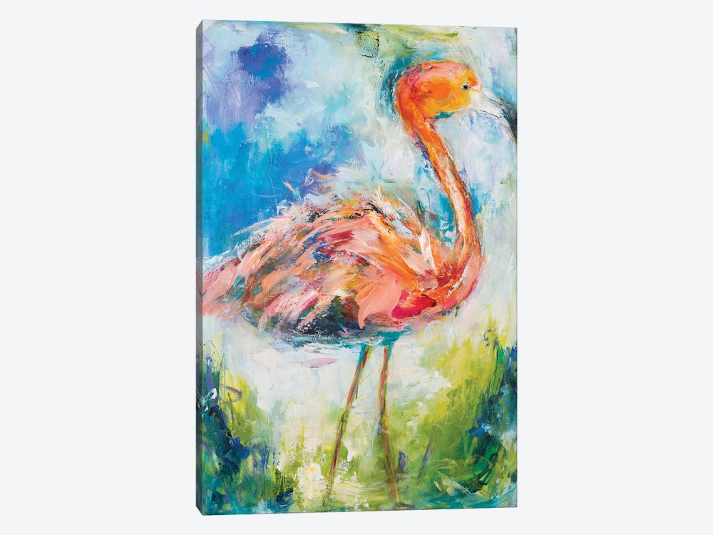 Pretty In Pink II by Hilma Koelman 1-piece Canvas Wall Art