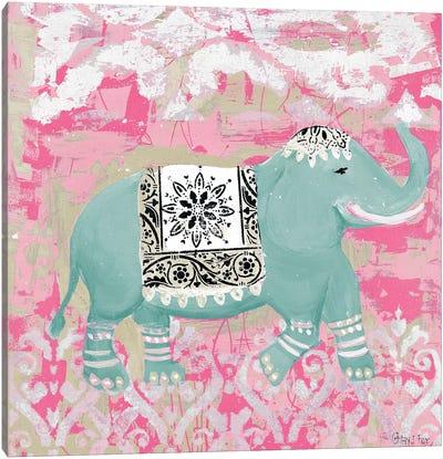 Pink Bazaar II Canvas Art Print