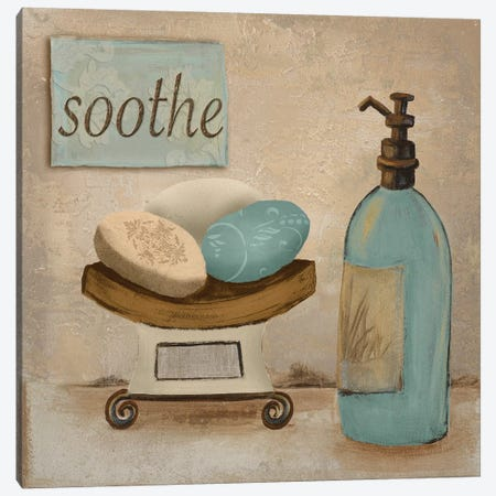 Soothe Canvas Print #HKR15} by Hakimipour-Ritter Canvas Art Print