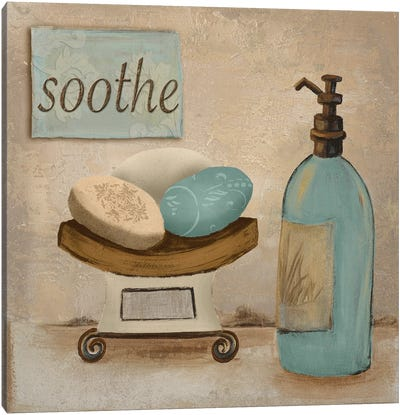 Soothe Canvas Art Print