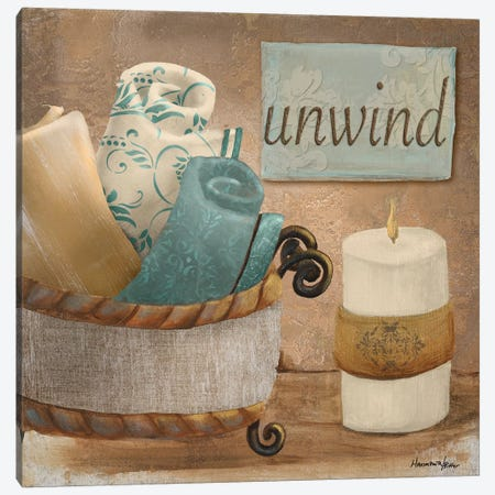 Unwind Canvas Print #HKR16} by Hakimipour-Ritter Canvas Print