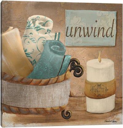 Unwind Canvas Art Print