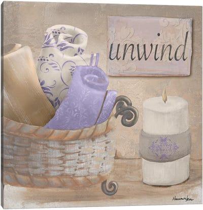Lavender Bath I Canvas Art Print