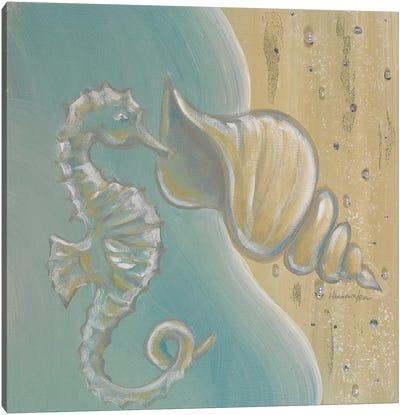 Pearl Beach I Canvas Art Print
