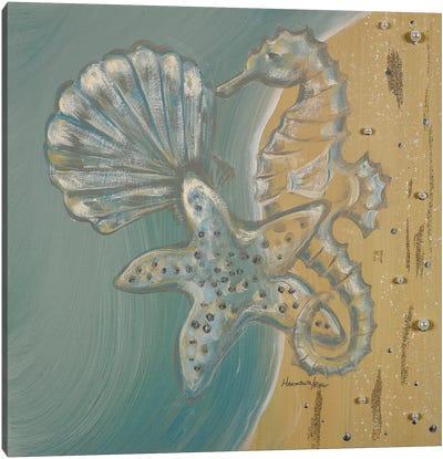Pearl Beach II Canvas Art Print