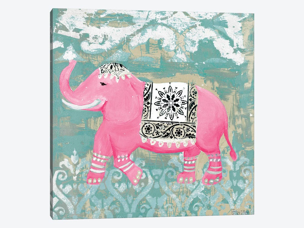 Pink Bazaar I by Hakimipour-Ritter 1-piece Canvas Wall Art