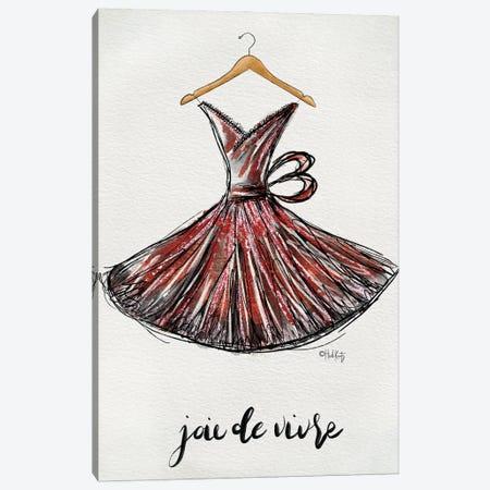 Joie de Vivre Dress Canvas Print #HKZ12} by Heidi Kuntz Canvas Artwork