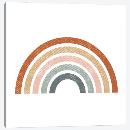 Rustic Rainbow Canvas Print #HKZ1} by Heidi Kuntz Canvas Artwork