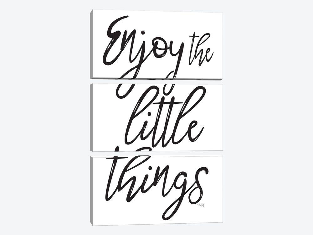 Enjoy the Little Things by Heidi Kuntz 3-piece Canvas Art