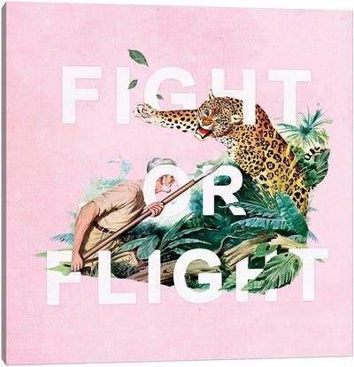 Fight Or Flight Canvas Art Print