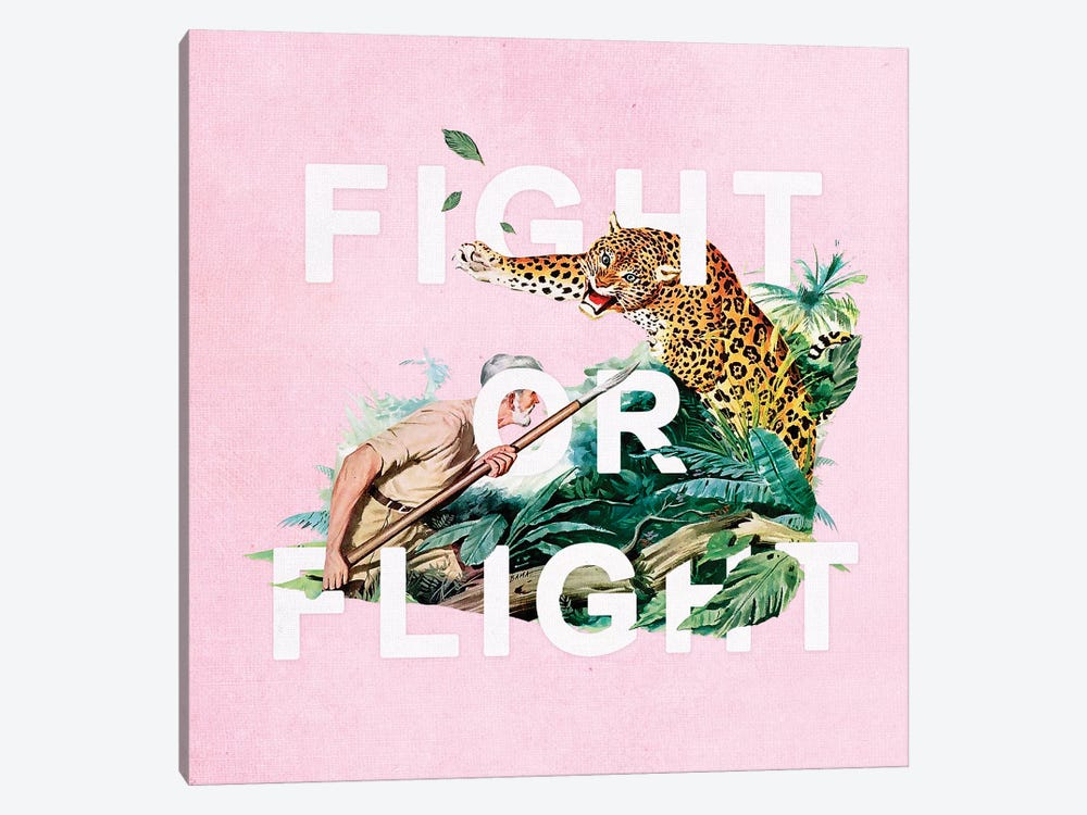 Fight Or Flight by Heather Landis 1-piece Art Print