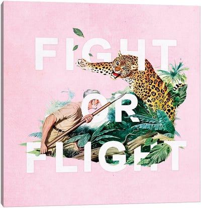 Fight Or Flight Canvas Art Print