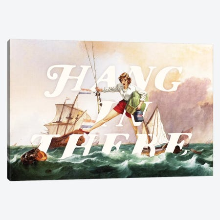 Hang In There Canvas Print #HLA13} by Heather Landis Canvas Wall Art
