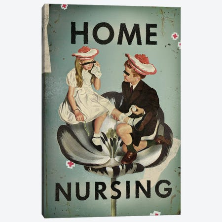 Home Nursing Canvas Print #HLA14} by Heather Landis Canvas Print