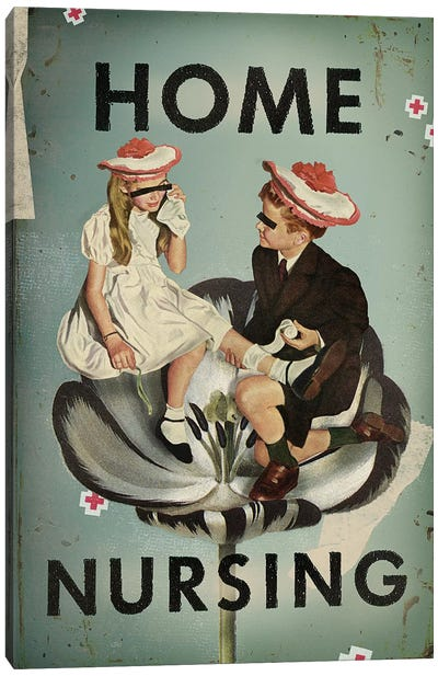 Home Nursing Canvas Art Print