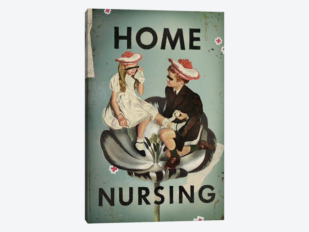Home Nursing by Heather Landis 1-piece Canvas Print