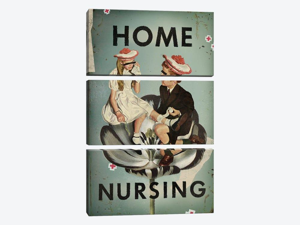 Home Nursing by Heather Landis 3-piece Art Print