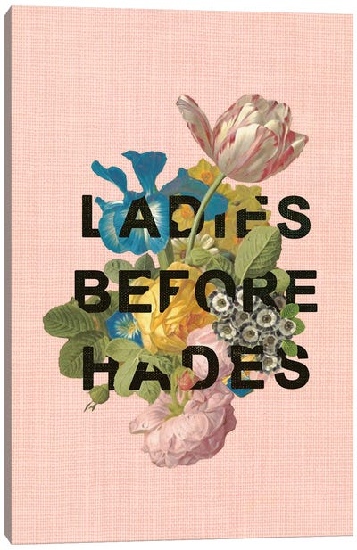 Ladies Before Hades Canvas Art Print
