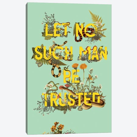 Let No Such Man Canvas Print #HLA20} by Heather Landis Art Print
